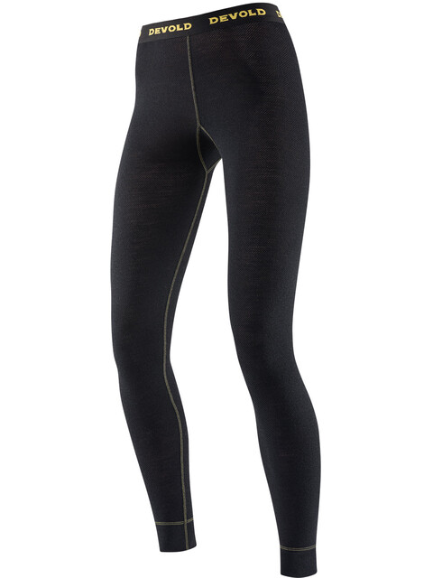 Devold W's Wool Mesh Long Johns Black